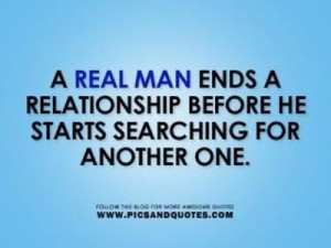 Real Men Quotes and Sayings