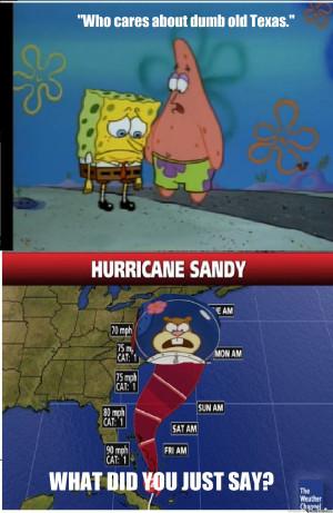 Hurricane Sandy Y'all