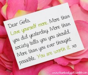 Dear Girls Quotes Dear girl quotes