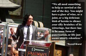 Marijuana Quote by Russell Brand