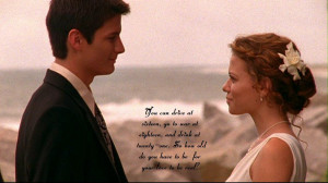 One Tree Hill Naley First Wedding
