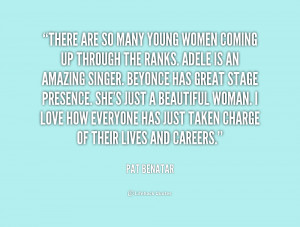 quote Pat Benatar there are so many young womening 173054 png