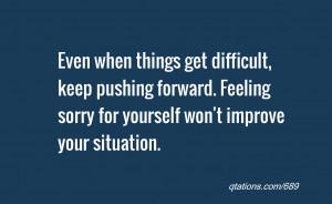 Keep Pushing Forward Quotes