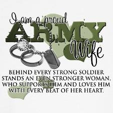 ... for the many strong women i know love you ladies stay army wife strong
