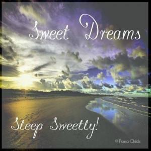 Sweet Dreams, Sleep Sweetly!