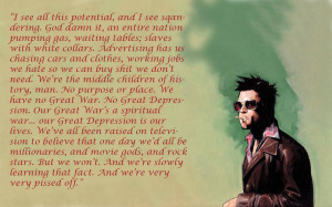These 5 Quotes From Movie Fight Club Will Change Your View Of Life ...