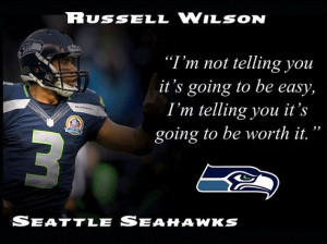 russell wilson seattle seahawks photo quote by arleyartemporium $ 15 ...