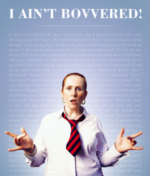 ain't even Bovvered! Catherine Tate! Favorite campanion on her own ...