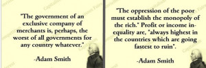 Adam Smith Quotes Adam smith's economic text