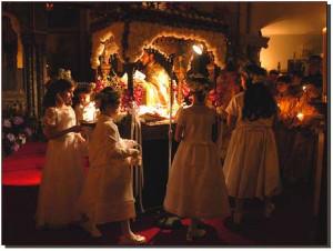 Orthodox Celebration Of Holy Saturday