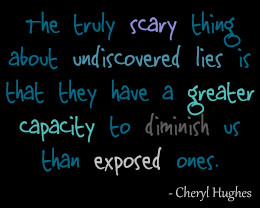 ... Greater Capcity To Dimisnish us Than exposed ones. - Cheating Quotes