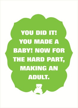 Perfect card for new parents!