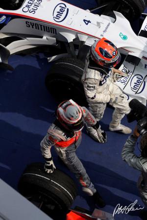 Heikki Kovalainen, Robert Kubica, Malaysian GP 2008