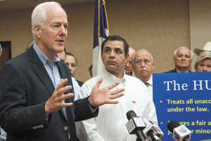 time for solutions, U.S. Sen. John Cornyn and U.S. Rep. Henry Cuellar ...
