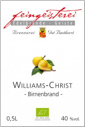 Birnenbrand Williams Christ BIO