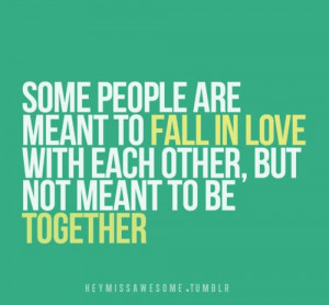 not together