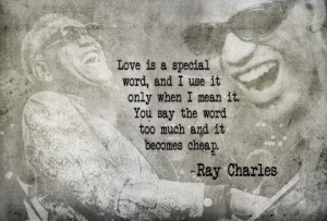 Ray charles's Love Thoughts!