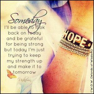 Quotes about strength / living with lupus / chronic illness