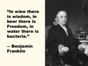 Benjamin Franklin - The Greatest Quotes Ever Slurred - Purple Clover