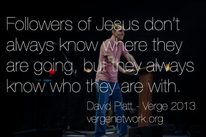 Being God's Sent Church | Verge 2013 Discipleship and Mission Thoughts ...