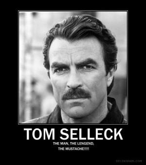 Tom Selleck Mustache