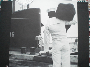 USS Lafayette, New London, CT ~ I remember saying good-bye to Dad for ...