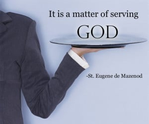 It is a matter of serving God