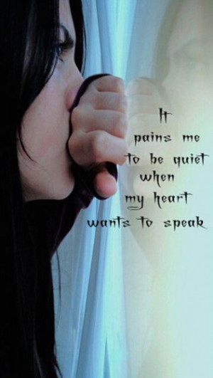 painful silence #love #quotes #followme