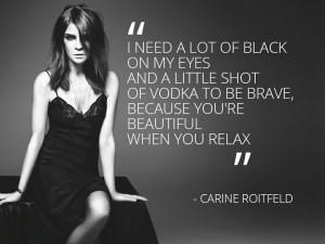 Carine Roitfeld #quote #fashion