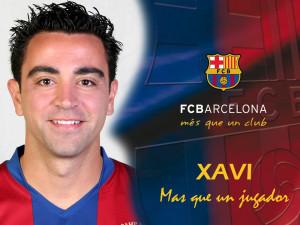 Xavi paecía un poco inocente... y yelo