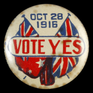 ... referendum to vote 'Yes' to sending Australian national servicemen to
