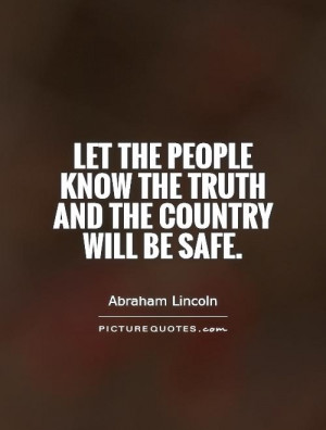 Abraham Lincoln Quotes Truth Quotes People Quotes