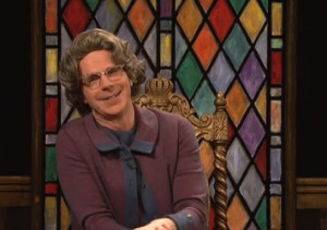 ... the Church Lady , Dana Carvey 's famously disapproving old shrew