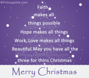 Christmas Card Quotes Sayings...