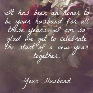 Wishing Quotes from husband to wish her in romantic style: