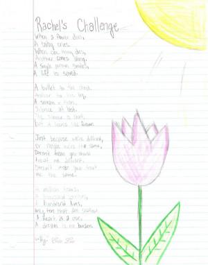Rachel Joy Scott's Challenge by Erinsthename