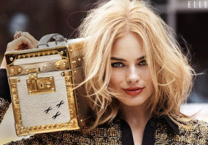 Margot Robbie Does Elle and Brings Today's Quote | Skinny VS Curvy