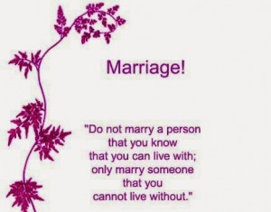 Marriage Quote for the Day
