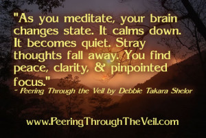 Meditation Quote by Takara