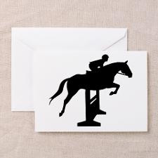 Hunter Jumper Over Fence Greeting Cards (Pk of 10) for