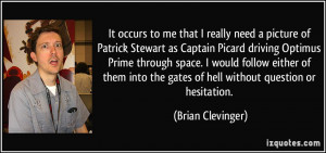 me that I really need a picture of Patrick Stewart as Captain Picard ...