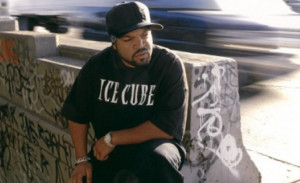 Rapper Ice Cube