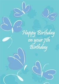 Happy 7th Birthday Quotes. QuotesGram