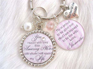 Wedding Gift Mother Of The Bride Groom By Canyonembroidery On Etsy $