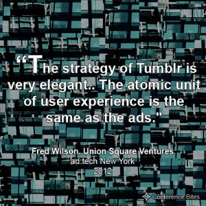 Fred Wilson at ad:tech New York