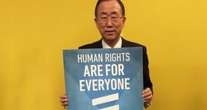 UN Secretary General Ban Ki-moon in Support of #IDAHOT 2014 | IDAHO