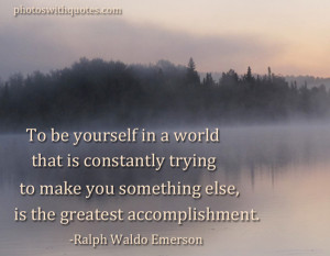 Ralph Waldo Emerson Quotes and check another quotes beside these Ralph ...