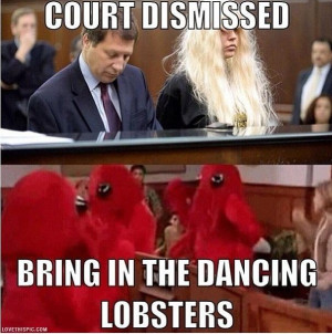 Court Dismissed funny celebrities quote celebrity dancing instagram ...