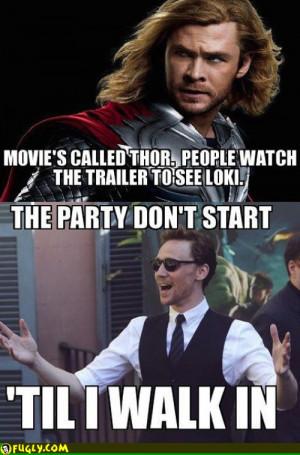 Loki Was Banging Thors Wife