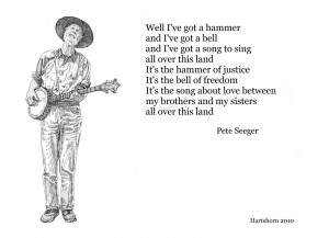 Pete Seeger: iconic folk singer/songwriter